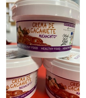 CREMA CACAHUETES MUCHACHITO 200GR GOFOOD
